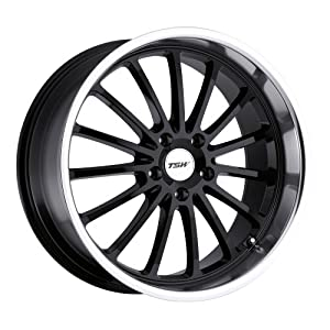 19×8 TSW Zolder (Gloss Black w/ Mirror Cut Lip) Wheels/Rims 5×120 (1980ZOL355120B76)