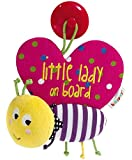 Mamas & Papas Babyplay Butterfly Baby on Board Car Sign