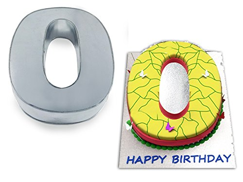 Small Number Zero 0 Wedding Birthday Anniversary Cake Baking Pan / Tin 10