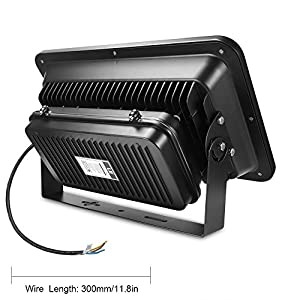 LE 240W High Power Outdoor LED Flood Lights, 600W HPS or MH Bulb Equivalent, 23800lm, Daylight White, Security Lights, Floodlight from Lighting EVER