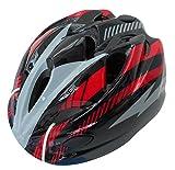 SAGISAKA(サギサカ) ヘルメット 自転車用ジュニアヘルメット スタンダードモデル Mサイズ 52~56cm ブラック/レッド 46407