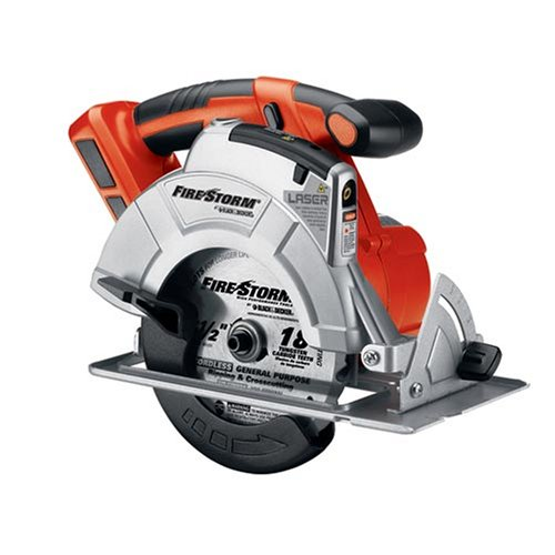 51lFPf1XqcL Black & Decker Firestorm 18 Volt FS18CS Cordless Circular Saw