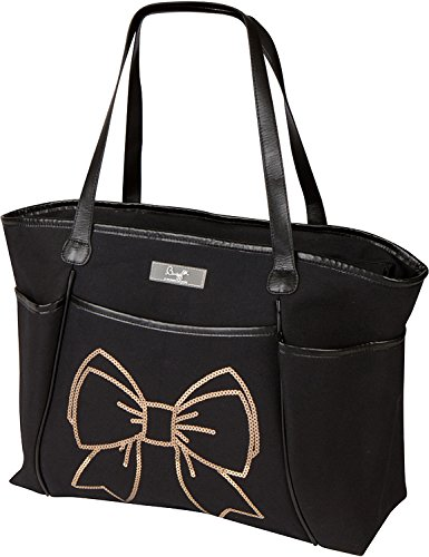 The Bumble Collection Sequin Tote Bag, Bow - 1