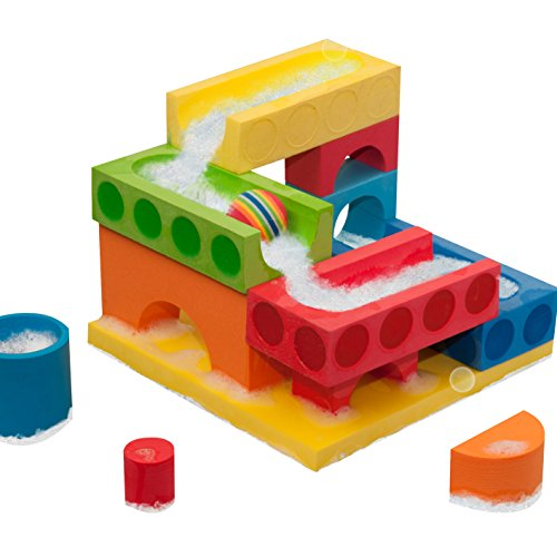 BathBlocks Floating Ball Run & Water Fall Set