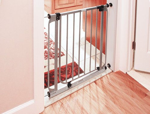 Dreambaby Dawson Swing Closed Security Gate - Silver