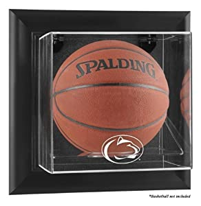 Penn State Nittany Lions Framed Logo Wall Mountable Basketball Display Case - Mounted... by Sports Memorabilia