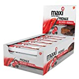 MaxiNutrition formerly Maximuscle Promax 60 g Chocolate Recover and Rebuild Bars - Box of 12