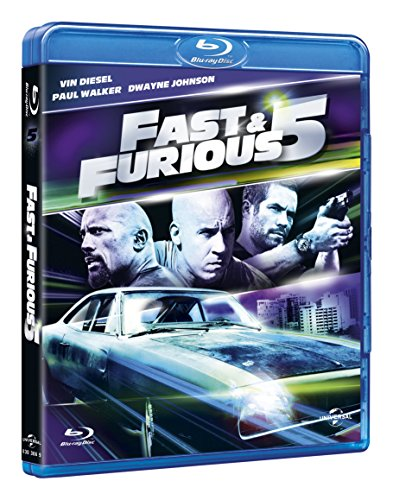 Fast & furious 5 [Blu-ray] [IT Import]