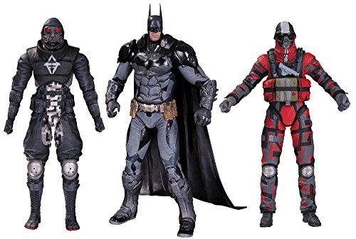 【フィギュア 買取】バットマン&敵兵(3パック) 「バットマン:アーカム・ナイト」 6インチアクションフィギュア ボックスセット