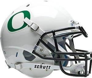 NCAA Oregon Ducks Authentic XP Football Helmet, White by Schutt