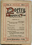 Poetry: A Magazine of Verse. Vol. III, No. IV. January 1914