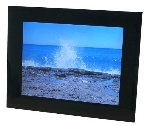 8,2 Display, 128 MB interner Speicher Praktica DF 1.8 Digitaler Bilderrahmen Aluminium