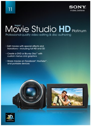Sony Creative Software Movie Studio HD Platinum 11