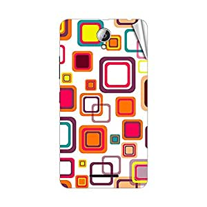 Garmor Designer Mobile Skin Sticker For Lenovo A678T - Mobile Sticker