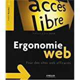 Ergonomie Web : Pour des sites web efficacespar Boucher Am�lie