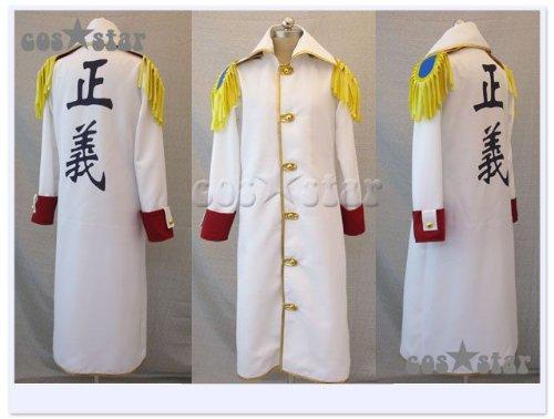 ワンピース 海軍本部 中将 ガープ コート風 コスプレ衣装