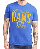 Los Angeles Rams NFL Men's Junk Food Logo T-shirt - Blue