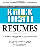 img - for Knock 'em Dead Resumes: A Killer Resume Gets MORE Job Interviews! book / textbook / text book