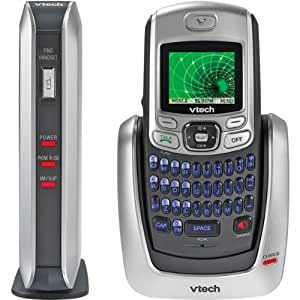Vtech IS6110 DECT 6.0 Digital Cordless Phone with Instant Messaging Capability