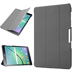 Galaxy Tab S2 9.7 Case, ENGIVE PU Leather Folio Flip Cover Case for 2015 New Samsung Galaxy Tab S2 9.7