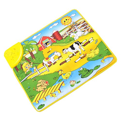 Baby Toy, Hatop Hot Kids Baby Happy farm Musical Touch Play Singing Carpet Mat Toy (Ford F150 Carpet compare prices)