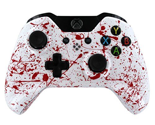 """Blood Splatter Soft Touch"" Xbox One Custom Modded Controller"