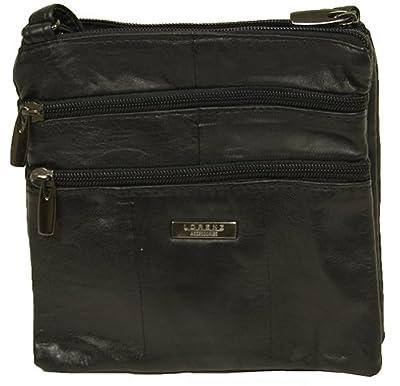Lorenz Genuine Small Soft Leather Cross Body/Shoulder Bag(1) - 1941