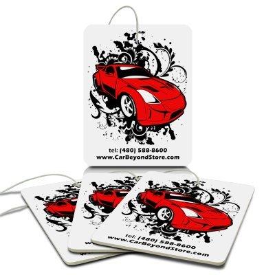Red Car Air Freshener, 3 Pack