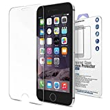Glass Screen Protector for iPhone 6 / 6S by Mediabridge - Anti-Scratch & Easy Install - 9H Hardness with Oleophobic Coating - Premium Tempered Glass - (Part# PEA-SPG-I6 )