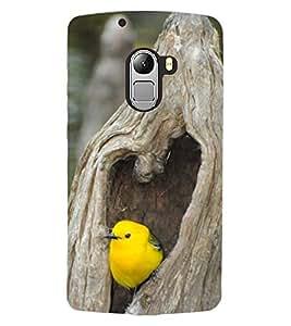 ColourCraft Cute Bird Design Back Case Cover for LENOVO VIBE X3 LITE