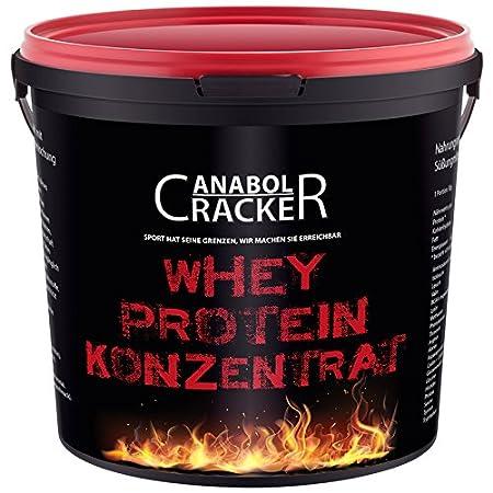 Whey Protein Konzentrat, 900g Shake, Spritzgebäck Himbeereis oder Vanille Geschmack, Eiweißpulver Glutamin (Spritzgebäck Himbeereis)