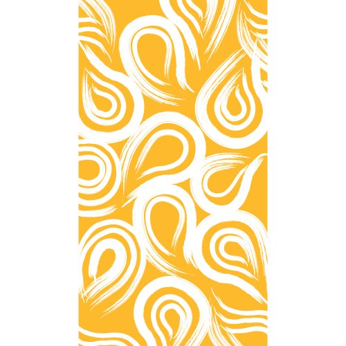 Creative Converting Coordinates Collection 16 Count Guest Towels/Large Napkins, School Bus Yellow Swirl