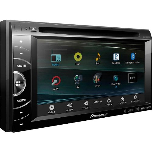 "Pioneer Two-Din In-Dash Multimedia Car Dvd Receiver With 6.1"" Wvga Touchscreen Display, Bluetooth Hands Free & Siri Eyes With Iphone 4S Or Iphone 5/5S/5C, Features Mixtrax, And Appradio Mode For Iphone 4S And Iphone, With Pandora Internet Radio, Features"