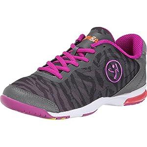 Zumba Women's Zumba? Impact Pulse Graphite Camo Sneaker 7.5 M