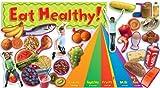 Scholastic Nutrition with Food Pyramid Mini Bulletin Board (TF8071)