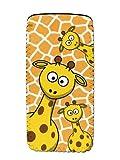 Giraffe Soft Neoprene Glasses Spectacle Case Pouch