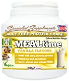 MEALtime: dairy free protein powder (300g tub powder)