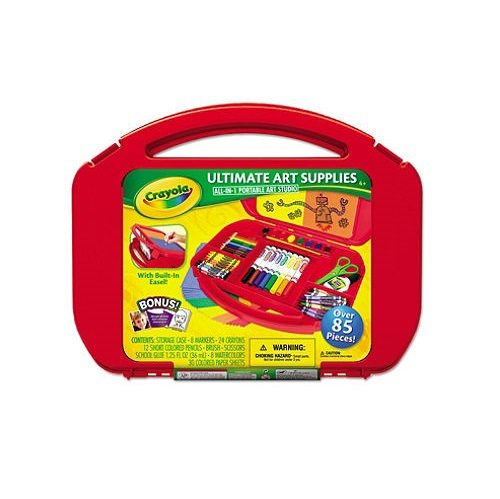 Crayola Ultimate Art Case with Easel (Color May Vary), (04-5674) - 1