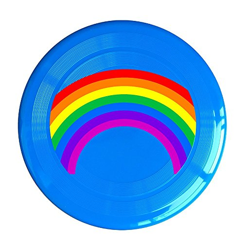 Logog 8 Custom Design Of The Rainbow Plastic Sport Disc RoyalBlue Diameter 23cm