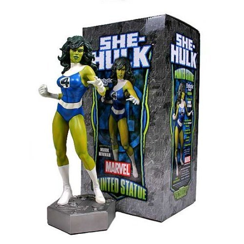 Picture of Bowen She-Hulk Fantastic Four Variant Statue by Bowen Designs Figure (B000WUA454) (Fantastic Four Action Figures)