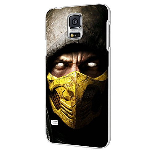 Best Video Game Characters (Scorpion Mortal Kombat X) for Iphone and Samsung Galaxy Case (samsung s5 (Mortal Kombat Cartoons)