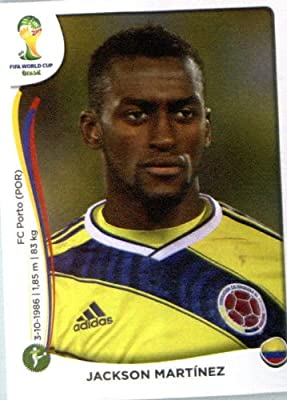 2014 Panini World Cup Soccer Sticker # 200 Teofilo Gutierrez Team Columbia