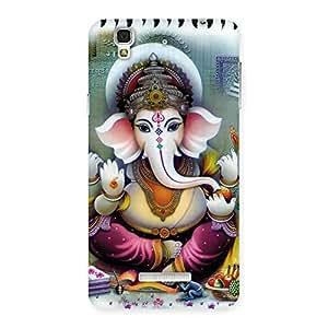Impressive Ganesha Blessings Back Case Cover for Yu Yureka