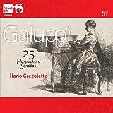 ガルッピ:25のハープシコード・ソナタ