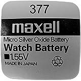 Maxell SR626SW 377 Knopfzelle, Silberoxid, 1.55V