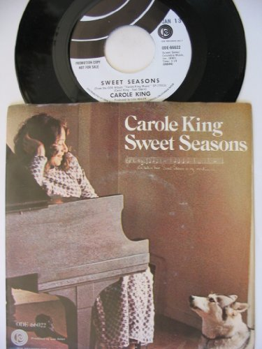 sweet seasons 45 rpm single by CAROLE KING