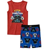 Angry Birds Star Wars Boys 2pc Pajamas Red Come to the Darkside