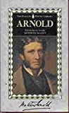 Arnold, The Poems of Matthew (Penguin Poetry Library) (0140585095) by Arnold, Matthew