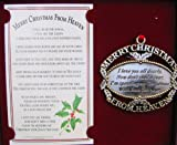 upc 826361000028 product image for mooney gold merry christmas from heaven ornament bookmark moone02