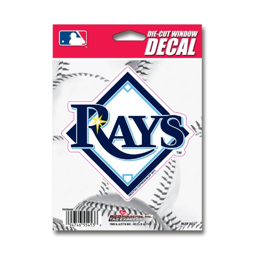 Mlb Tampa Bay Rays Die-Cut Window Decal